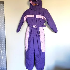 ALPINE TEK kids girl's snow suit size 10/12
